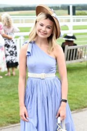 Georgia Toffolo - Celebrity Horserace at Glorious Goodwood in Chichester