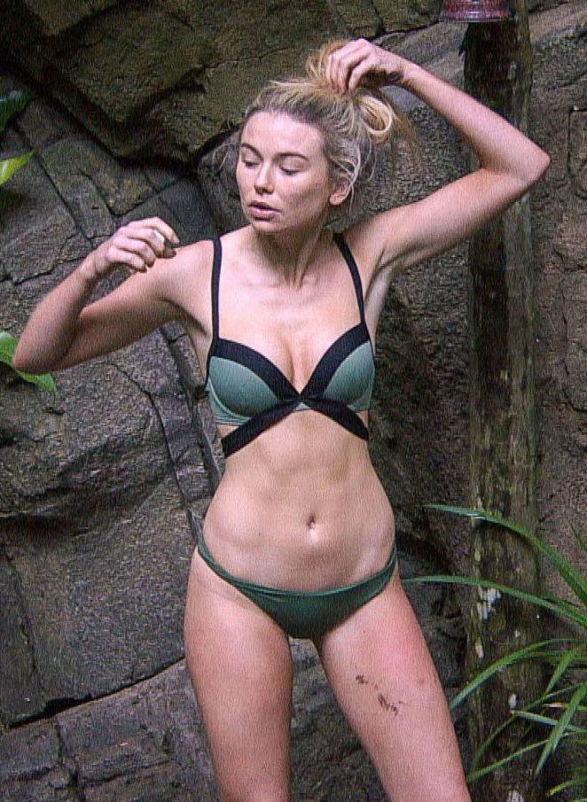 Georgia Toffolo in Bikini - Filming TV Show in Australia