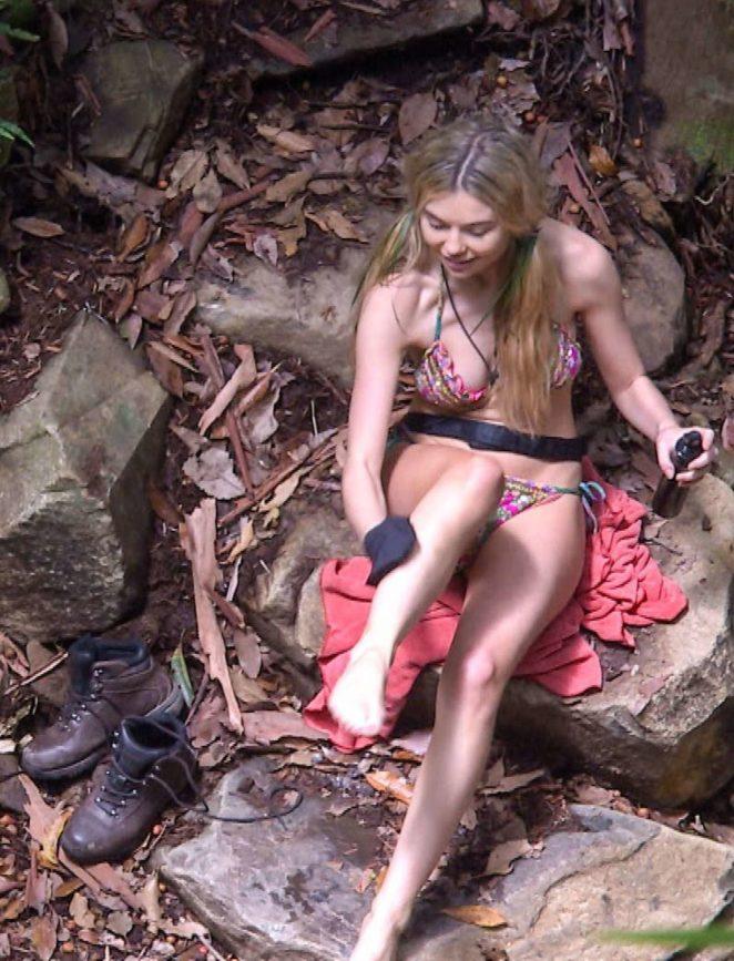 Georgia Toffolo in Bikini on TV Show in Australia
