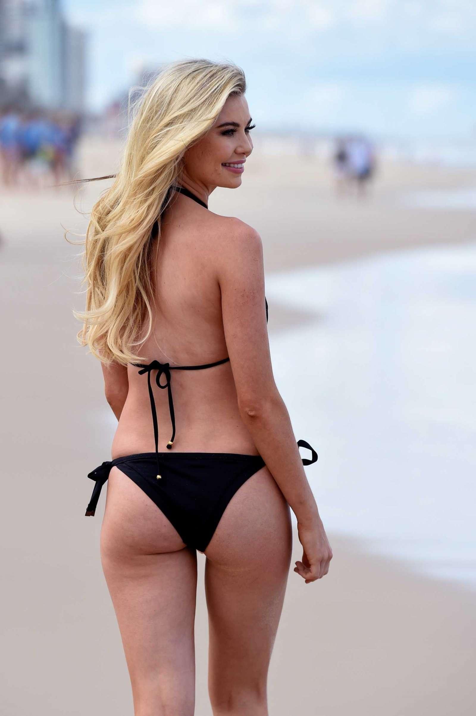 Georgia Toffolo 2017 : Georgia Toffolo in Black Bikini 2017 -03