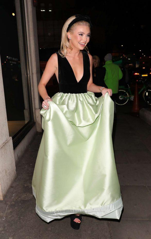 Georgia Toffolo in Costarellos Dress in London