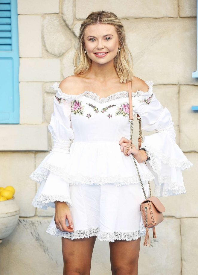 Georgia Toffolo - 'Mamma Mia! Here We Go Again' Premiere in London