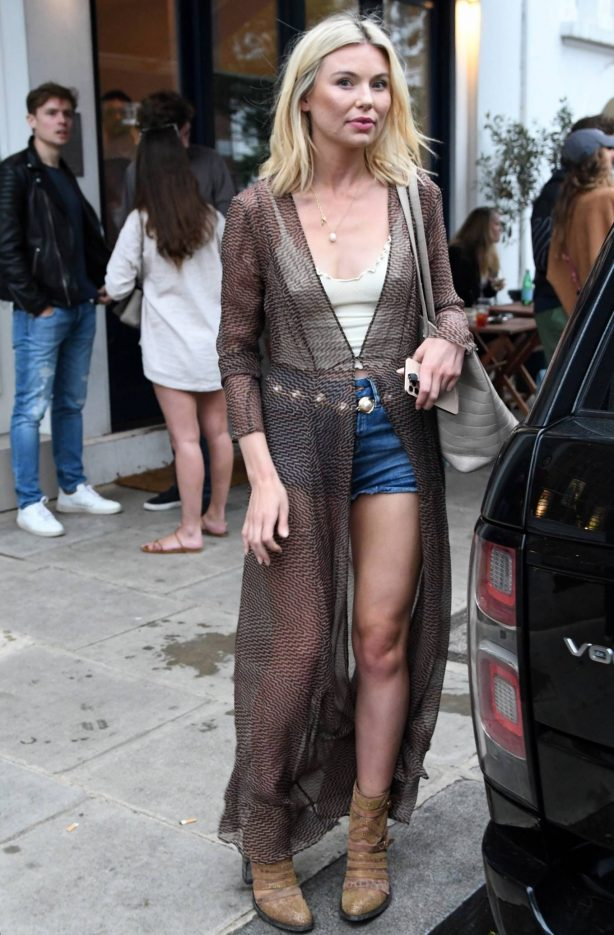 Georgia Toffolo - Out in Chelsea