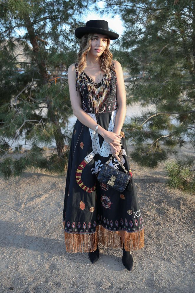 Georgie Flores – Dior Sauvage Party in Pioneertown