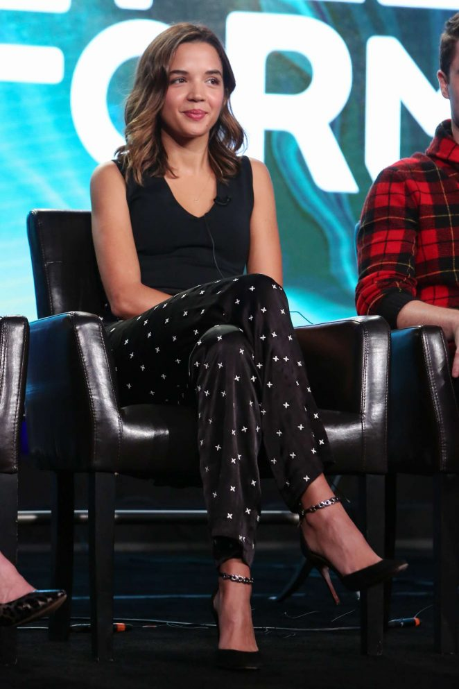 Georgie Flores - 'Famous in Love' Panel at TCA Winter Press Tour in Pasadena