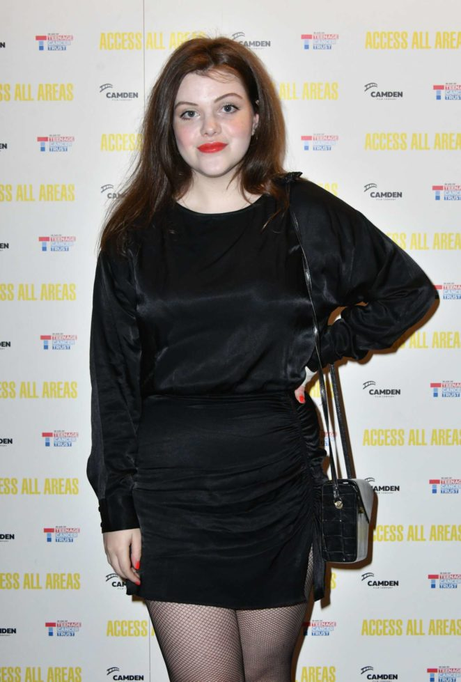 Georgie Henley - 'Access All Areas' VIP Gala Screening in London