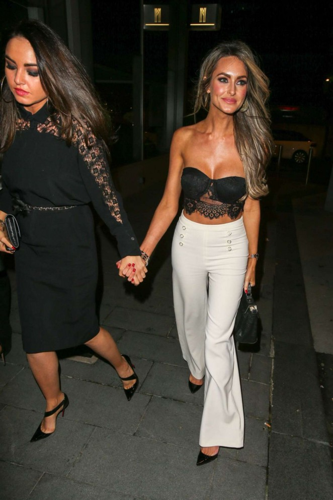 Georgina Dorsett - Night Out in Manchester