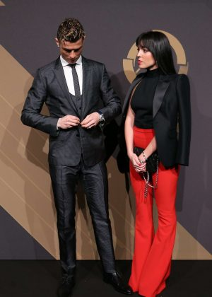 Georgina Rodriguez and Cristiano Ronaldo - 'Quinas de Ouro' 2018 Ceremony in Lisbon