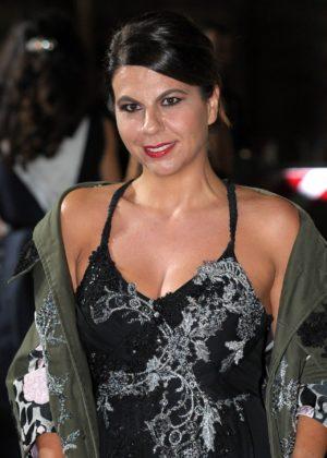 Geppi Cucciari – Green Carpet 2017 Fashion Awards in Italia