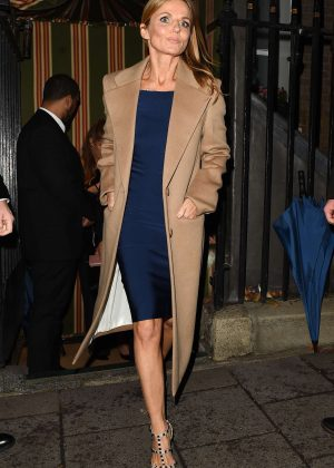 Geri Halliwell - Arriving at the International Day of the Girl Gala in London