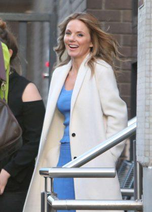 Geri Halliwell at the ITV Studios in London