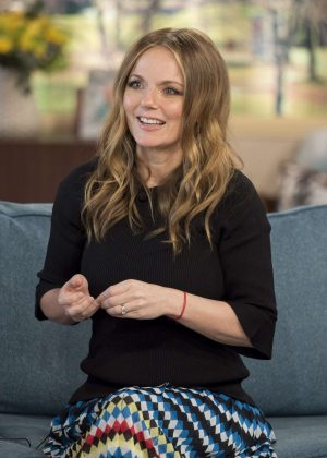Geri Halliwell at 'This Morning' TV Show in London