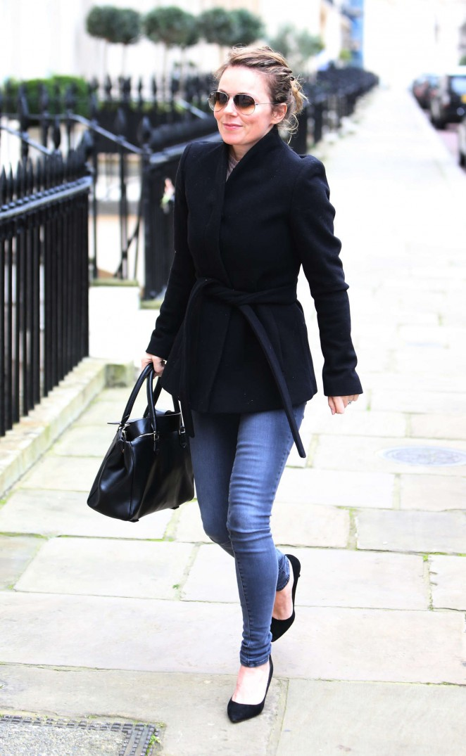 Geri Halliwell in Jeans out in London
