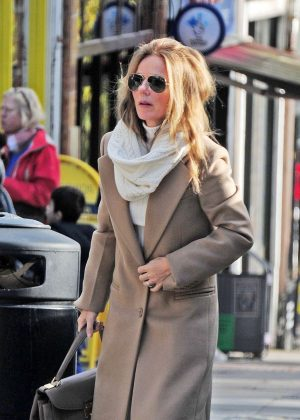 Geri Halliwell - Out and about in London