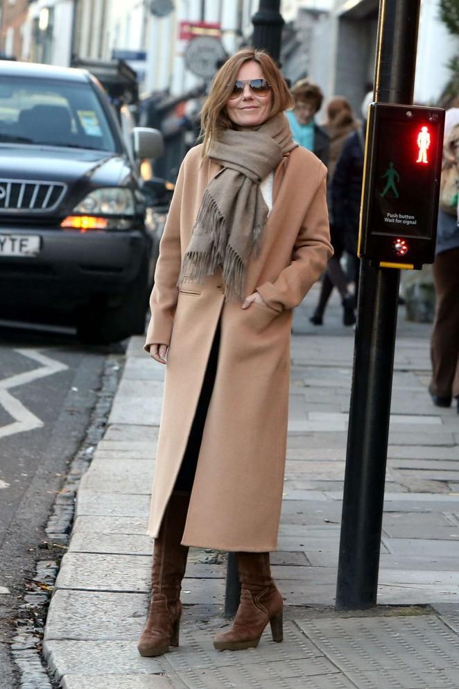 Geri Halliwell Shopping in London