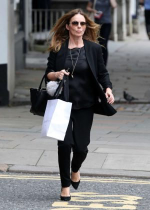 Geri Halliwell - Shopping on Hampstead High Street in London