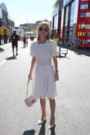 Geri Halliwell - Visits the Formula One Race at the Austrian Grand Prix Red Bull Ring in Spielberg