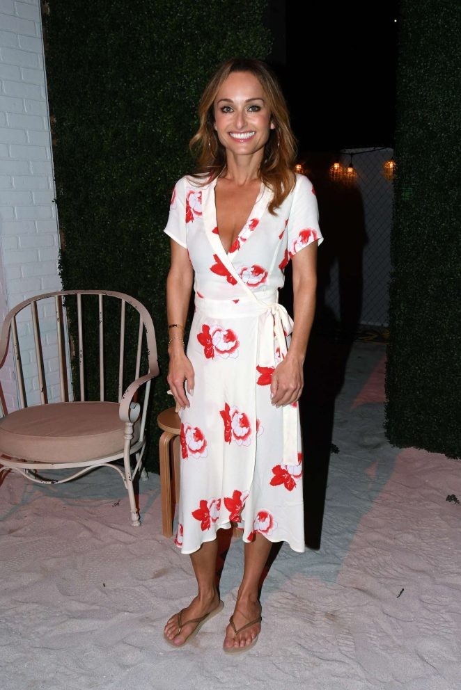 Giada De Laurentiis hosts the Italian Bites on the Beach Event in Miami