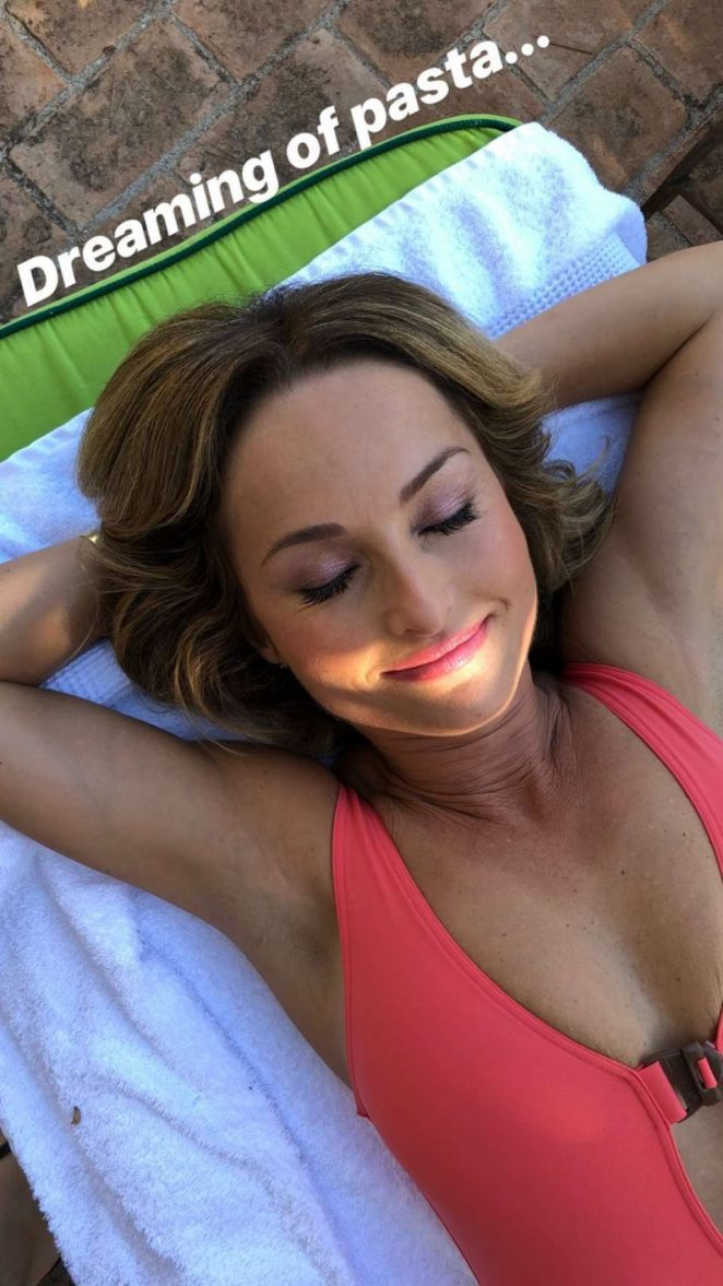 Giada De Laurentiis in Swimsuit – Instagram
