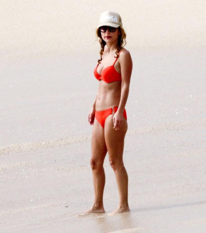 Giada De Laurentiis: Wearing a bikini in Los Cabos (adds)-11