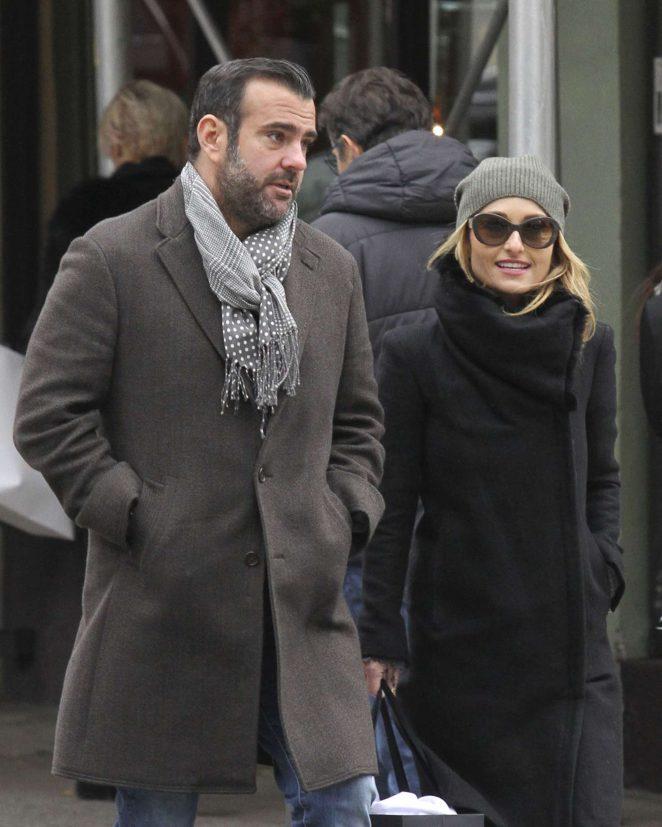Giada De Laurentiis with her boyfriend Shane Farley in NY