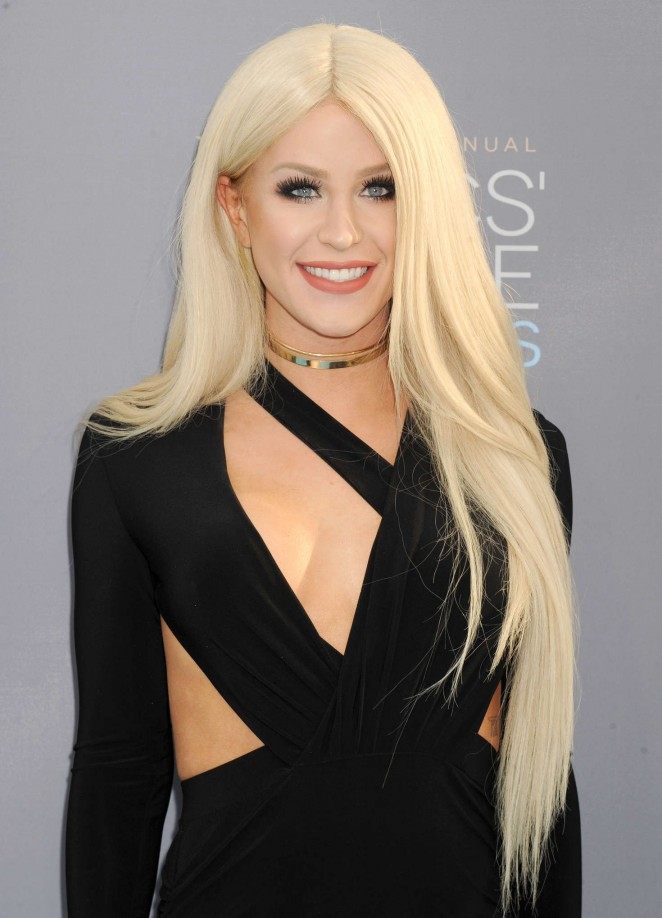 Gigi Gorgeous - 2016 Critics' Choice Awards in Santa Monica