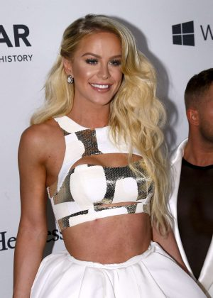 Gigi Gorgeous - 7th Annual amfAR Inspiration Gala in New York