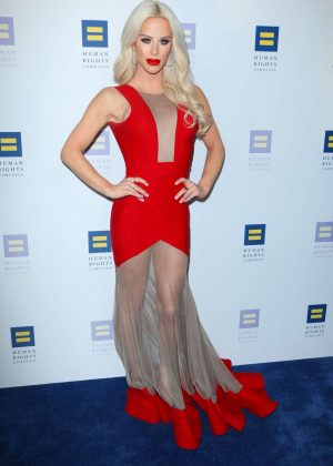 Gigi Gorgeous - Human Rights Campaign Gala Dinner 2017 in Los Angeles