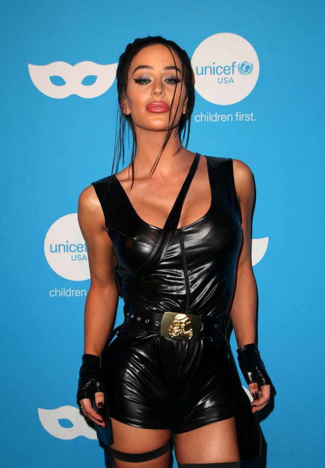 Gigi Gorgeous – UNICEF Masquerade Ball 2018 in Los Angeles