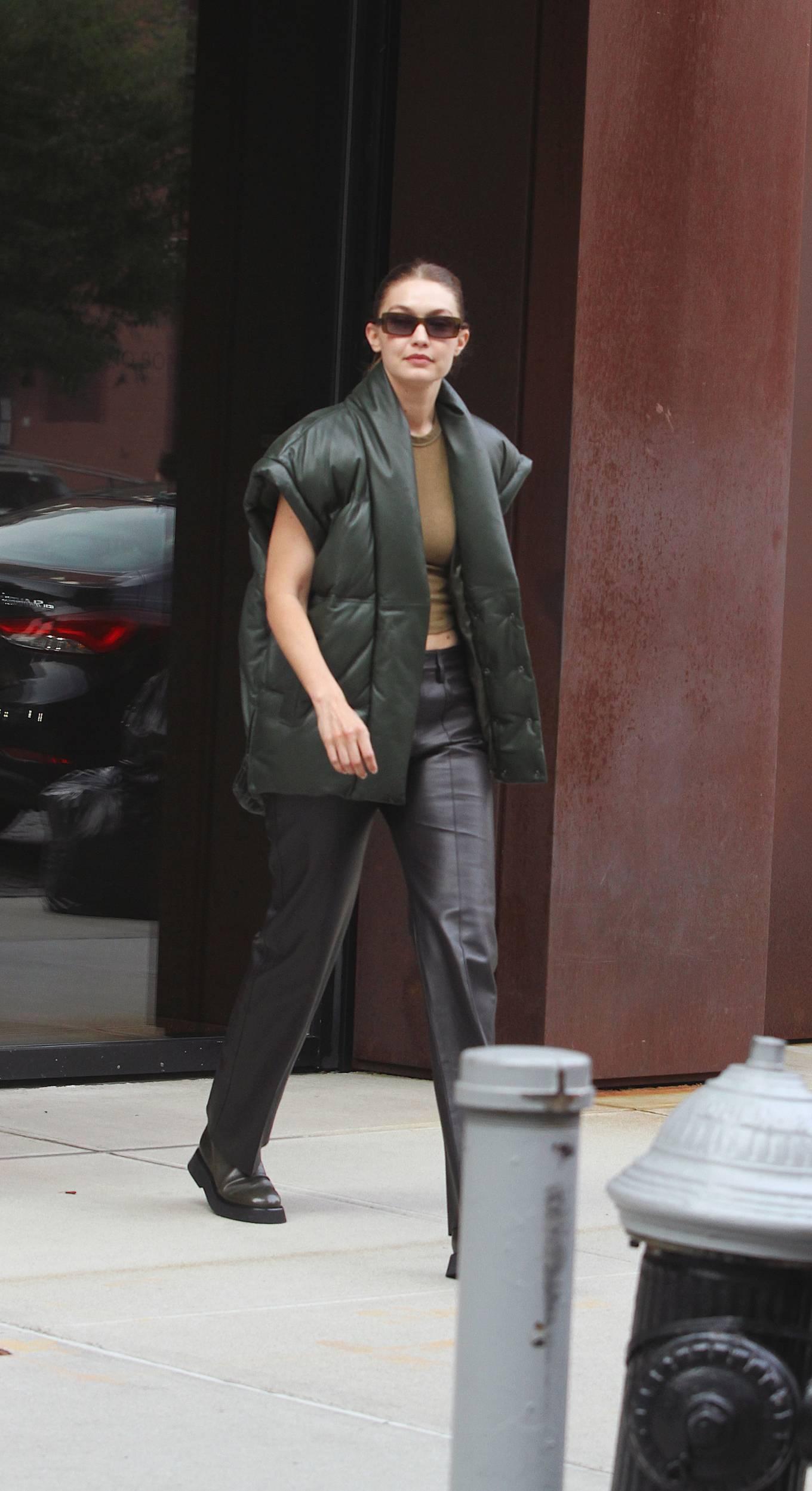 Gigi Hadad 2021 : Gigi Hadad – Seen Leaving her apartment in New York-08