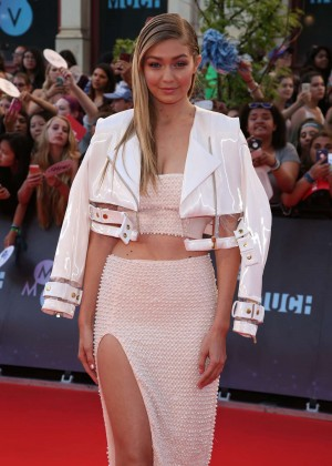 Gigi Hadid - MuchMusic Video Awards 2015 in Toronto