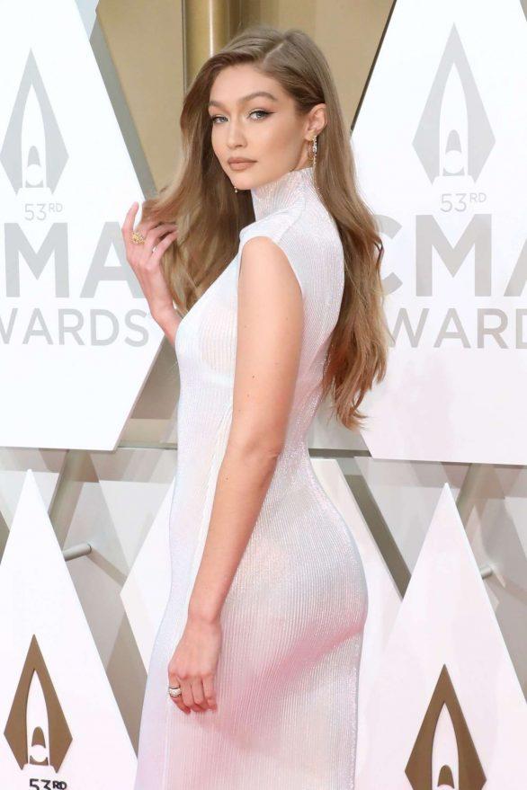 Gigi Hadid - 2019 CMA Awards in Nashville