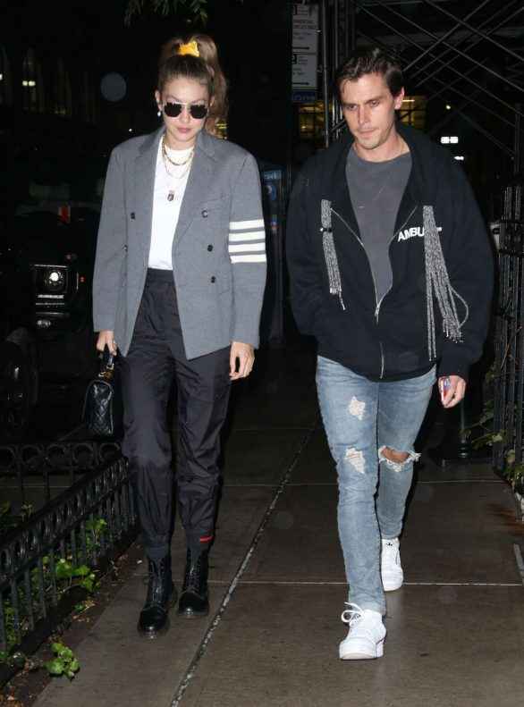 Gigi Hadid and Antoni Porowski - Out and about in New York City