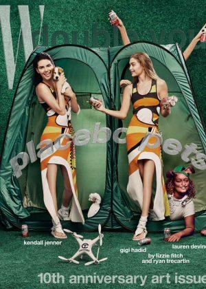 Gigi Hadid and Kendall Jenner - W Magazine (November 2016)