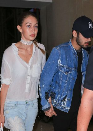 Gigi Hadid and Zayn Malik Arrives at LAX in Los Angeles