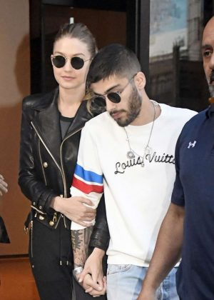 Gigi Hadid and Zayn Malik Out in New York