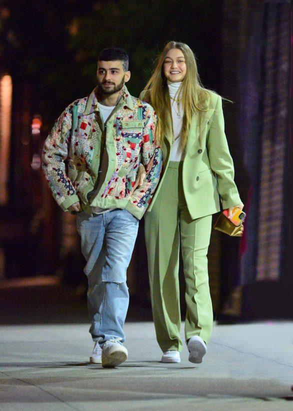Gigi Hadid and Zayn Malik - Out in NYC