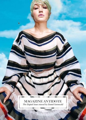 Gigi Hadid - Antidote Cover Magazine (S/S 2015)
