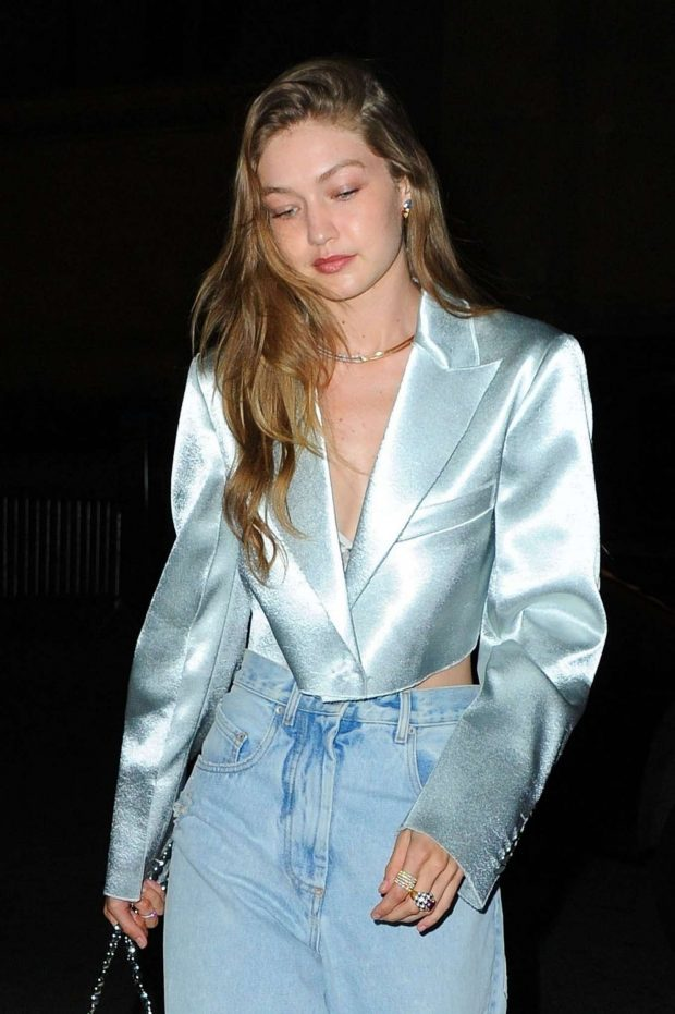 Gigi Hadid - Arrives at an event at L'Avenue in New York