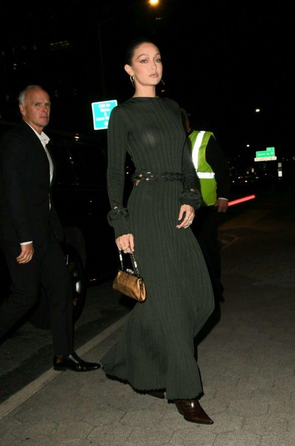 Gigi Hadid - Arrives at CFDA/Vogue Fashion Fund 2019 Awards in NYC