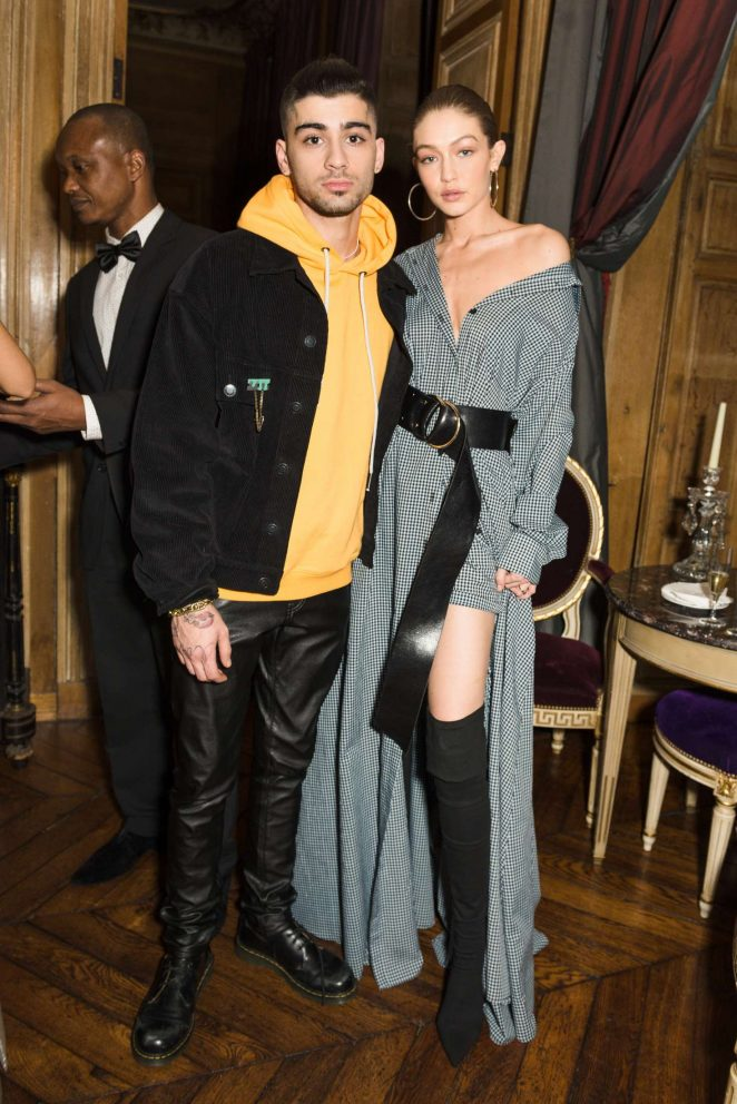 Gigi Hadid at CFDA and Vogue Fashion Fund 'Americans in Paris' Event in Paris