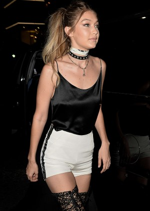 Gigi Hadid at Her 21st Birthday Party in West Hollywood