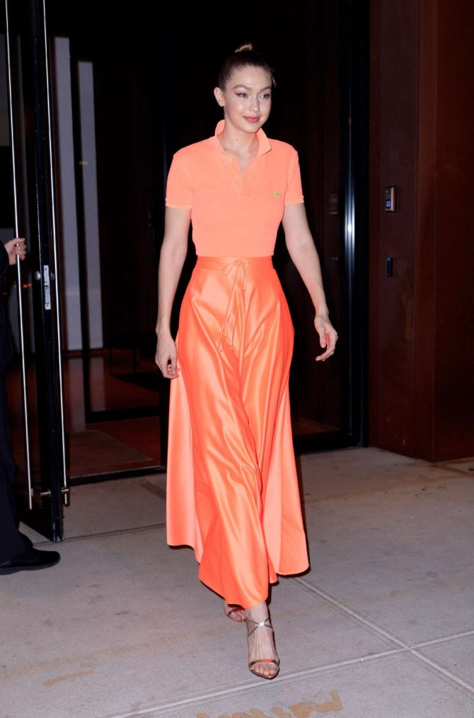 Gigi Hadid at Maybelline New York Fashion Week party -01
