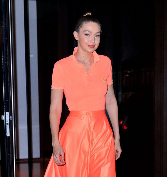 Gigi Hadid at Maybelline New York Fashion Week party -02