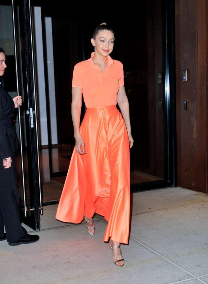 Gigi Hadid 2019 : Gigi Hadid at Maybelline New York Fashion Week party -03