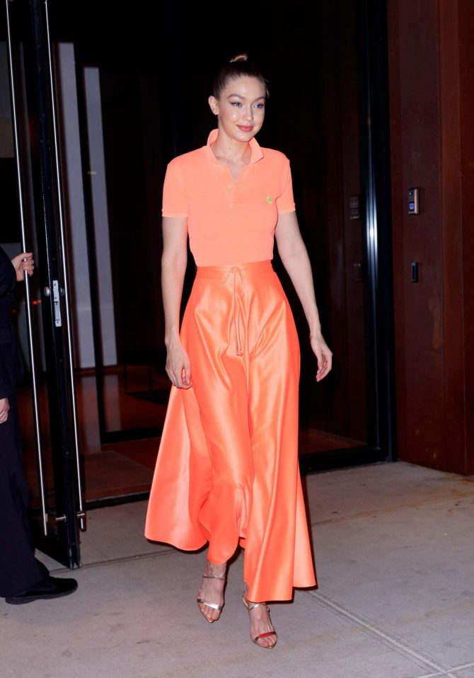 Gigi Hadid at Maybelline New York Fashion Week party -04