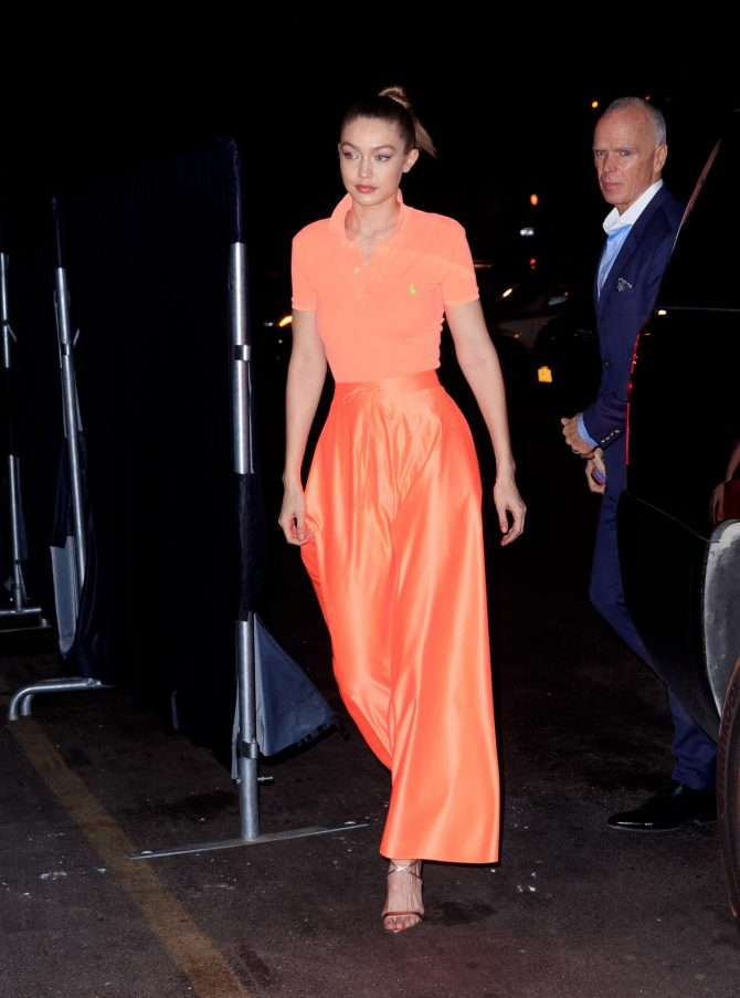 Gigi Hadid at Maybelline New York Fashion Week party -05