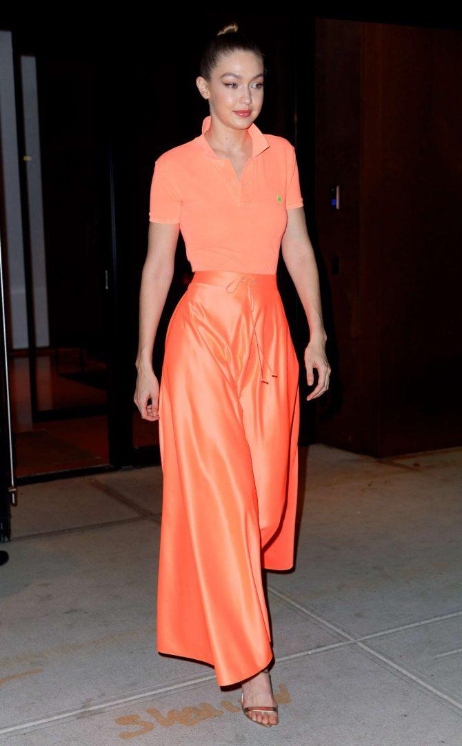 Gigi Hadid at Maybelline New York Fashion Week party -06