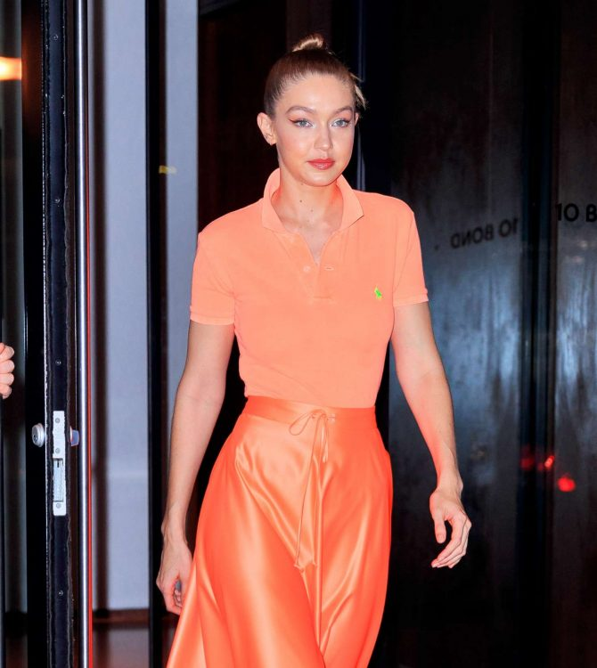 Gigi Hadid 2019 : Gigi Hadid at Maybelline New York Fashion Week party -08