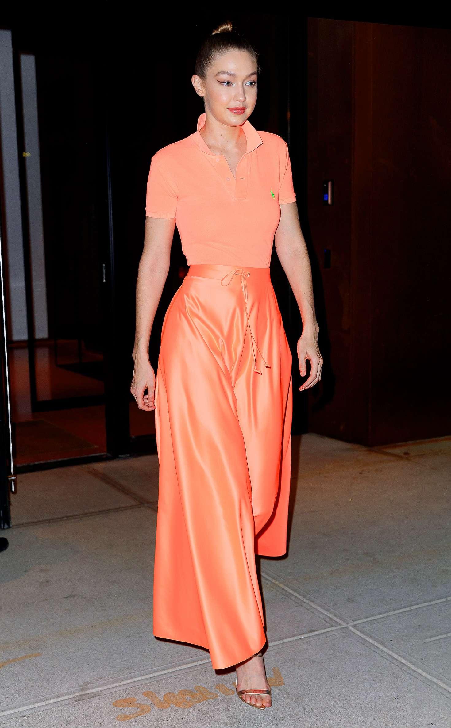 Gigi Hadid at Maybelline New York Fashion Week party in New York